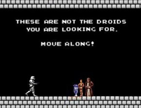 Your Droids Are in Another Castle