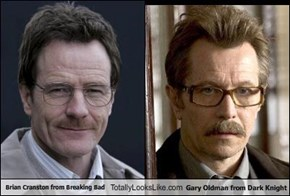 Brian Cranston from Breaking Bad Totally Looks Like Gary Oldman from Dark Knight