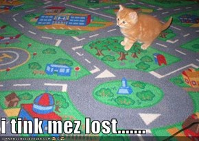 i tink mez lost.......