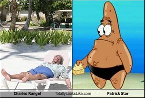 Charles Rangel Totally Looks Like Patrick Star