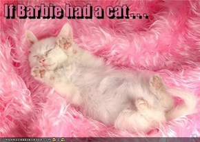 If Barbie had a cat . . .