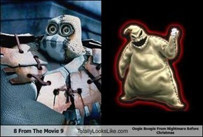 8 From The Movie 9 Totally Looks Like Oogie Boogie From Nightmare Before Christmas