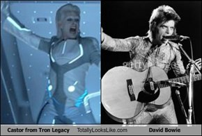 Castor from Tron Legacy Totally Looks Like David Bowie