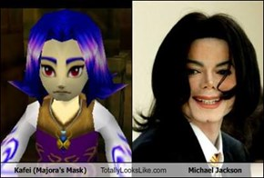 Kafei (Majora's Mask) Totally Looks Like Michael Jackson