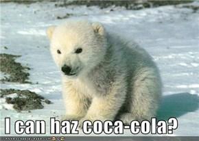 I can haz coca-cola?
