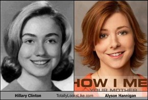 Hillary Clinton Totally Looks Like Alyson Hannigan