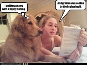 I do likes a story with a happy ending.