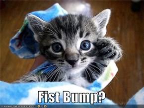 Fist Bump?