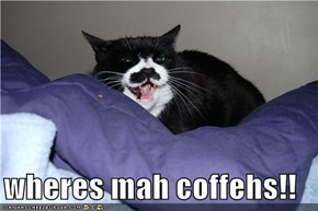 wheres mah coffehs!!