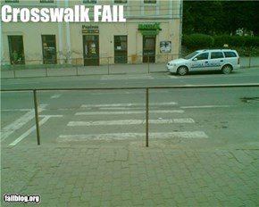 Crosswalk Fail