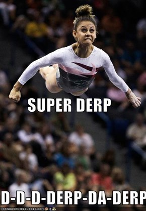Super Derp, Away!