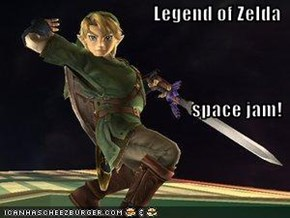 Legend of Zelda space jam!
