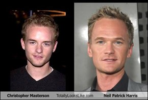 Christopher Masterson Totally Looks Like Neil Patrick Harris