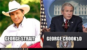 GEORGE STRAIT - GEORGE CROOKED