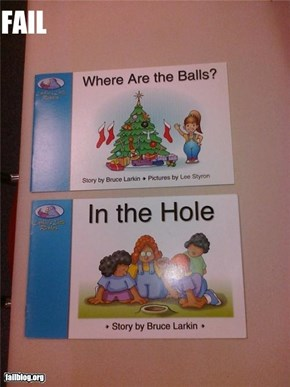 Children's Book Title Fail.