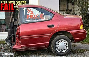 Half Price Car  FAIL