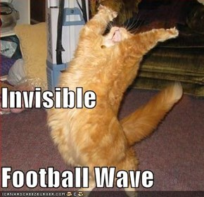 Invisible Football Wave