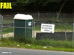 Port-a-Potty Sign Fail
