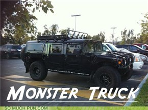 Now Thats A Monster Truck