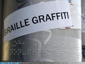 Whats Braille For Hacked IRL?