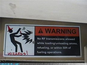 WARNING: WIZARDS!