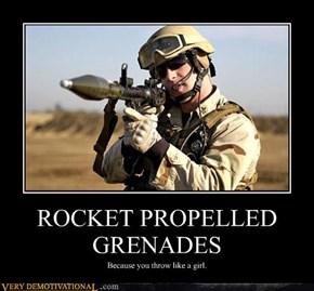 ROCKET PROPELLED GRENADES