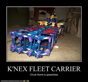 K'NEX FLEET CARRIER