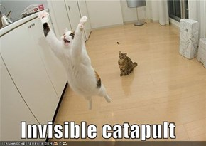Invisible catapult