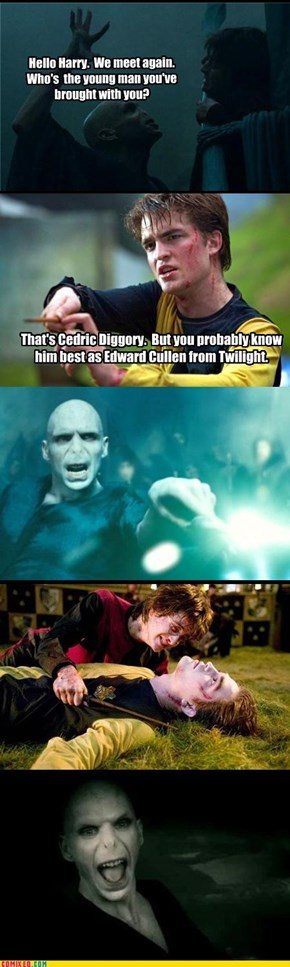 Lord Voldemort is Not A Fan
