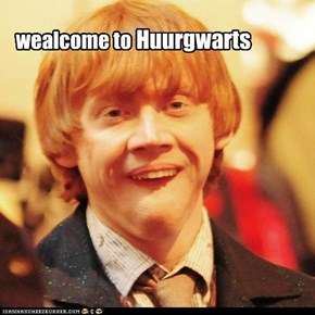 Look! it's Huury Potter!