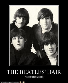 THE BEATLES' HAIR