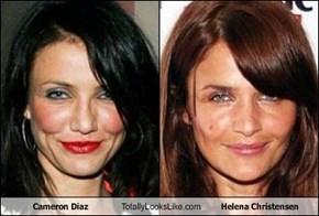 Cameron Diaz Totally Looks Like Helena Christensen