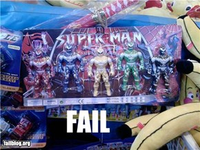 Action Figure FAIL