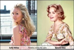 Julia Stiles Totally Looks Like Sandra Dee