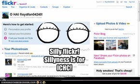 Silly flickr! Sillyness is for ICHC!