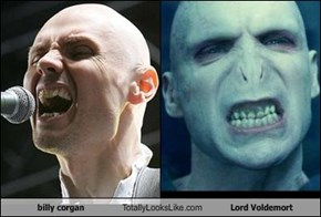 billy corgan Totally Looks Like Lord Voldemort