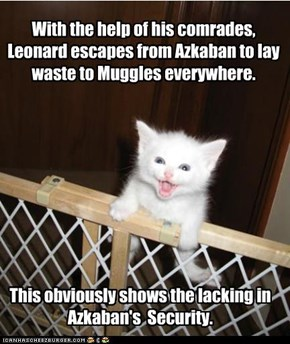 Azkaban escapee