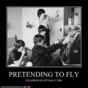 PRETENDING TO FLY