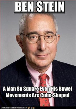 A Man So Square Even His Bowel Movements Are Cube-Shaped