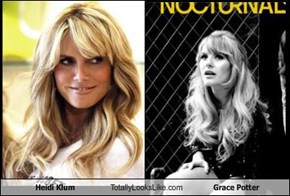 Heidi Klum Totally Looks Like Grace Potter