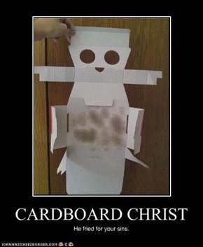 CARDBOARD CHRIST