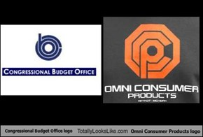 Congressional Budget Office logo Totally Looks Like Omni Consumer Products logo