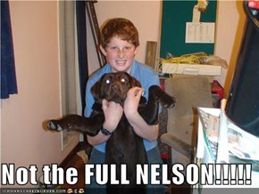 Not the FULL NELSON!!!!!