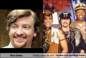 Rhys Darby Totally Looks Like The Biker from The Village People