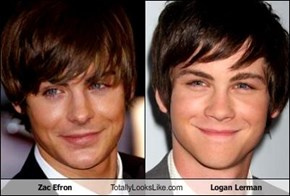 Zac Efron Totally Looks Like Logan Lerman
