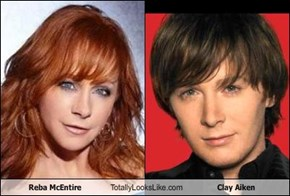 Reba McEntire Totally Looks Like Clay Aiken