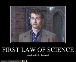 FIRST LAW OF SCIENCE