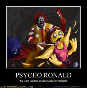 PSYCHO RONALD
