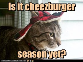 Is it cheezburger     season yet?