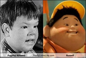 Pugsley Addams Totally Looks Like Russell